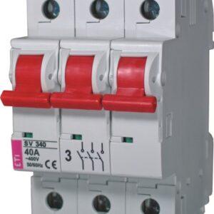 Выключатели нагрузки модульные SV