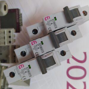 автоматический выключатель 4 ампера один полюс
